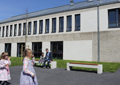 Impressionen von der Eröffnung des Familienzentrums