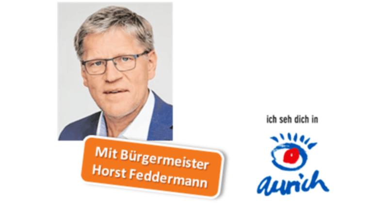 Bürgermeister Horst Feddermann