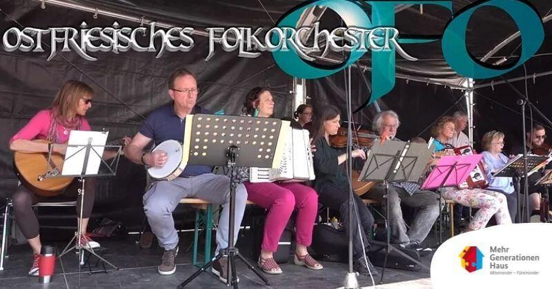 Auftritt Folkorchester