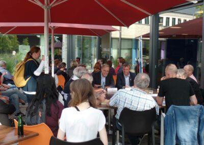 Impressionen von der Dialogveranstaltung zu den Bundes- und Landtagswahlen am 23.08.2017