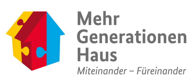 Logo Mehrgenerationenhaus | Miteinander - Füreinander