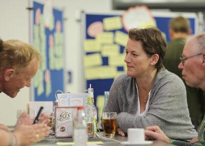 """Impressionen vom Workshop Runder """"Tisch - Partizipation, Beteiligungsmöglichkeiten im Familienzentrum Aurich"""""""