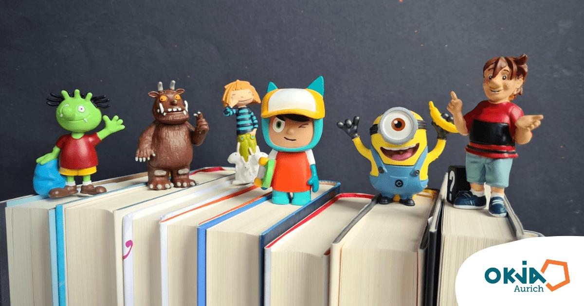 Figuren aus dem Geschichtennachmittag und Kinderbüchern