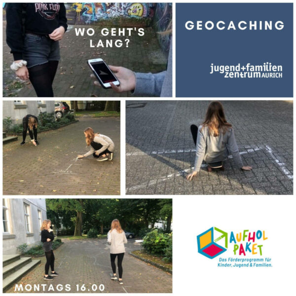 Collage Geocaching